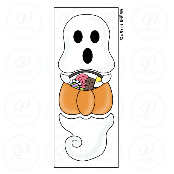 Trick or Treat Ghost 3 Pieces Set Cookie Cutter