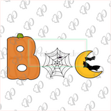 Boo Individual Cookie Cutter Set