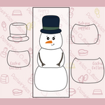 Snowman 4 Pieces Set