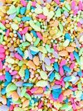 Easter Eggs Sprinkles Mix -  Easter - Periwinkles Cutters LLC