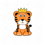 Tiger King Inspired Cookie Cutter - Cute Tiger King Full body Cookie Cutter