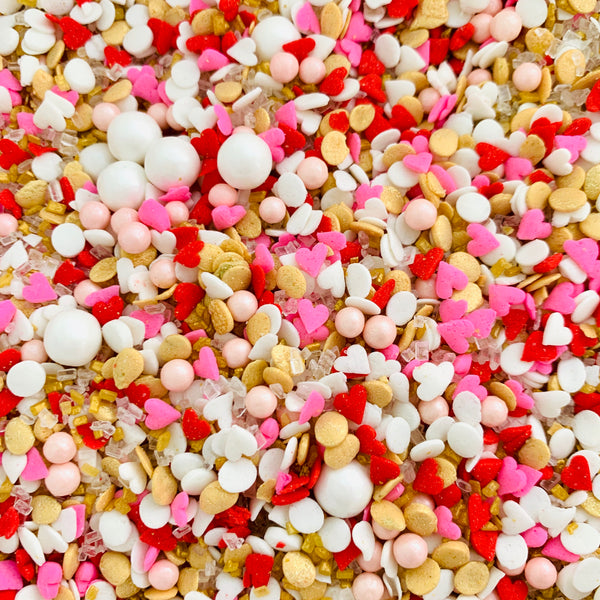 Pure Love Sprinkles Mix - Valentines Love - Periwinkles Cutters LLC