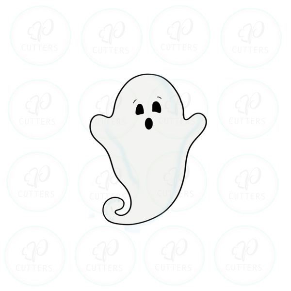Boo Tall Ghost Cookie Cutter
