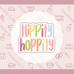 Hippity Hoppity Plaque Cookie Cutter