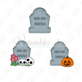 Tombstones Cookie Cutters - Periwinkles Cutters LLC