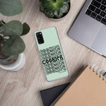 Pastel Green and Black Cookier Samsung Case - Periwinkles Cutters LLC