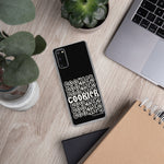 Black and White Cookier Samsung Case - Periwinkles Cutters LLC