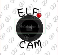 Elf Cam Plaque - Periwinkles Cutters LLC