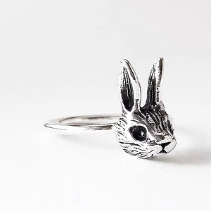 Silver Rabbit Ring