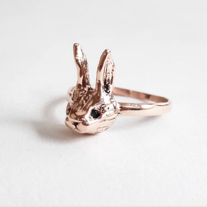 9ct Gold Rabbit Ring