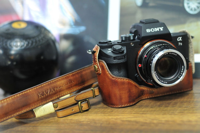 Sony A7 / A7R / A7S Series Leather Camera Case - kaza-deluxe