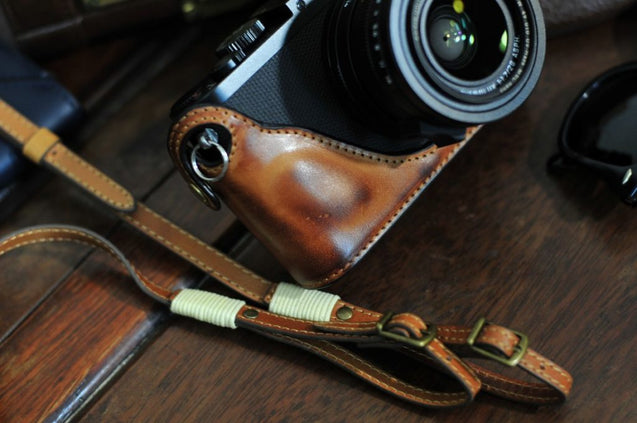 Leica Q Leather Camera Case