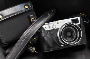 Fujifilm X 100V Leather Camera Case - Combo Set - kaza-deluxe