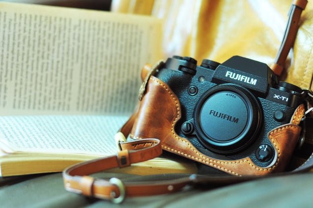 Fujifilm X T1 Leather Camera Case - kaza-deluxe