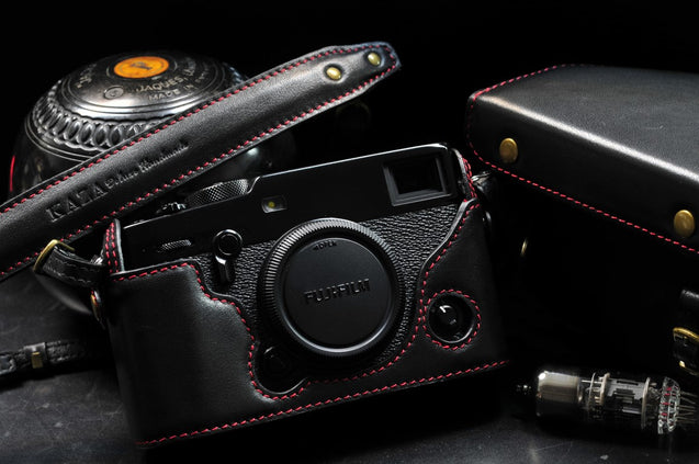 Fujifilm X Pro3 Leather Camera Case - Combo Set - kaza-deluxe