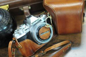 Olympus E M10 Mark III Leather Camera Case - Combo Set - kaza-deluxe