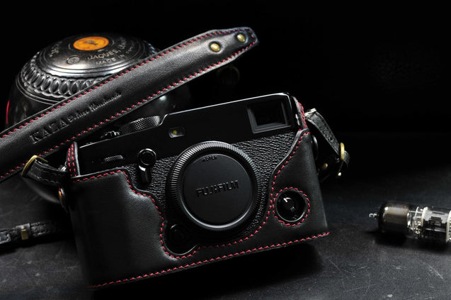 Fujifilm X Pro3 Leather Camera Case - kaza-deluxe