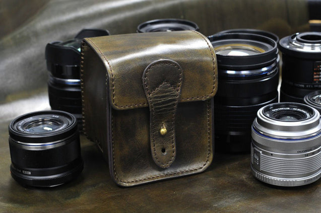Leather Lens Cases - kaza-deluxe