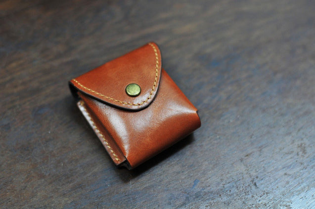 Small Leather Pouch - kaza-deluxe
