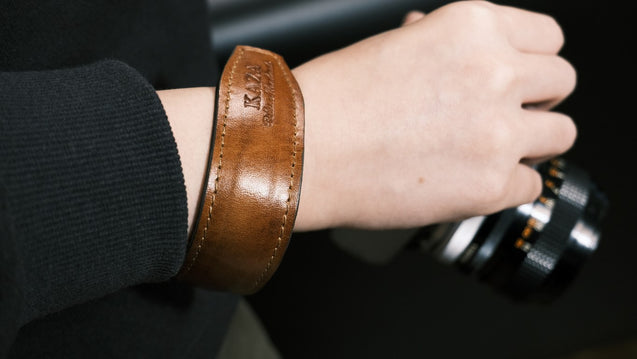 WRIST STRAP [COW LEATHER] - kaza-deluxe