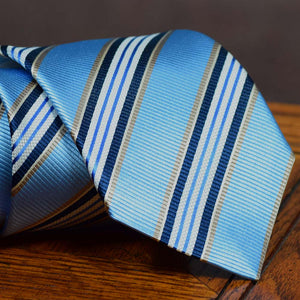 Light Blue Stripe  XL