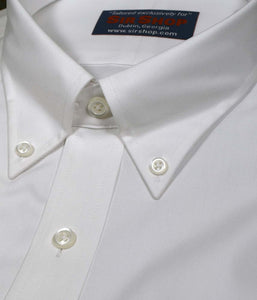 White No-Iron Button Down