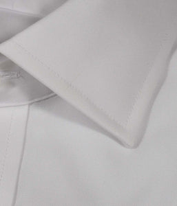 White Royal Oxford No-Iron Modified Spread