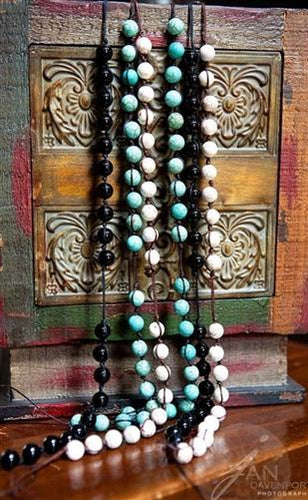 Prayer Bead Necklace, Gemstone