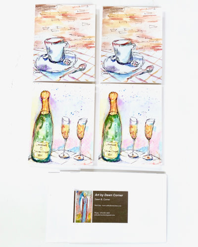 French Collection Greeting Cards