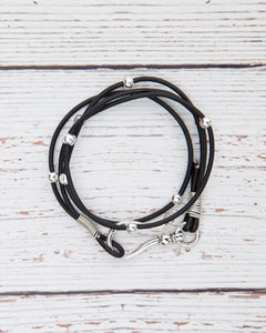 Teamwork Hook Wrap Bracelet with Licensed Charm