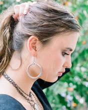 Load image into Gallery viewer, Doughnut Disc Earrings - Large