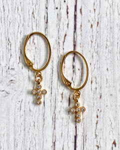 Tiny Treasures Hoop Earring