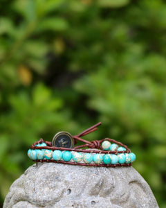 Gemstone Threaded Wrap
