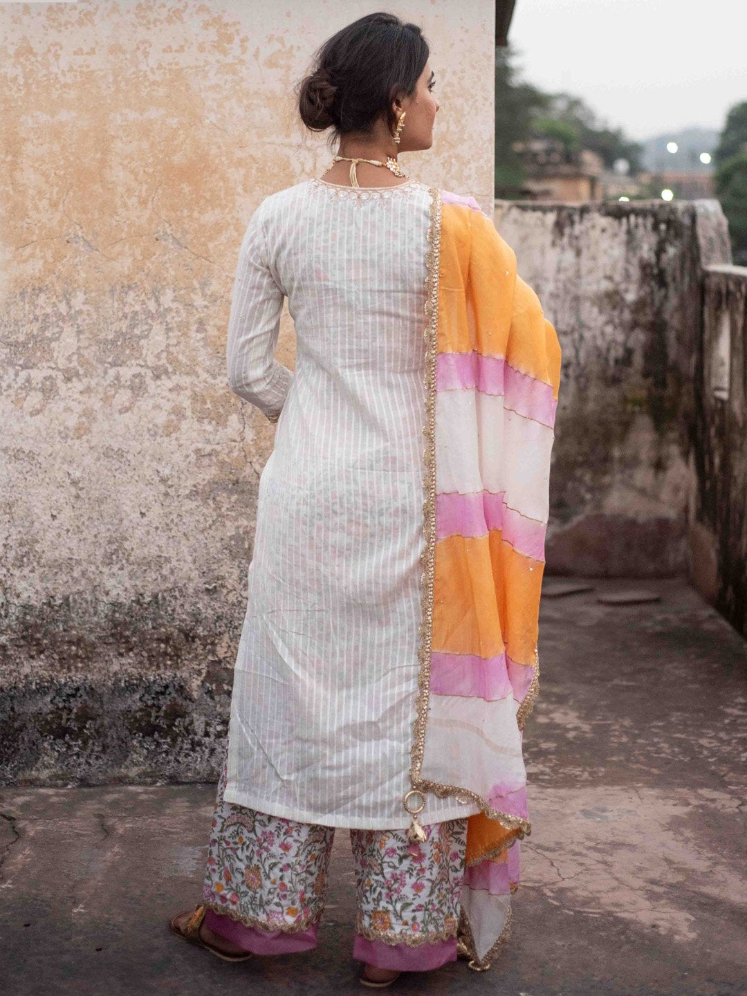 Rukmini Chanderi Cotton Set