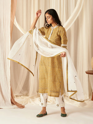 Honey Mustard Dupatta