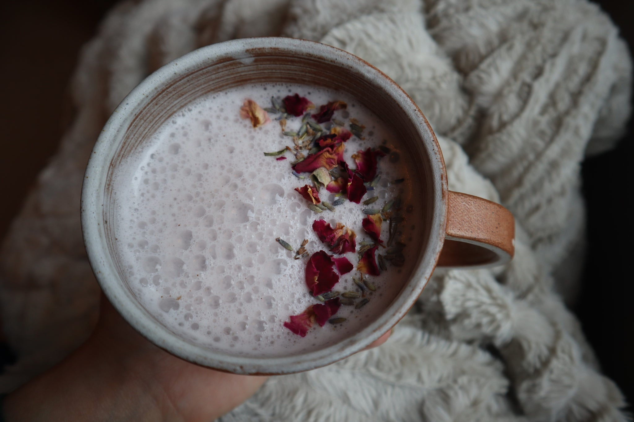 How to Make Moon Milk | Lavender and Rose Moon Milk Recipe