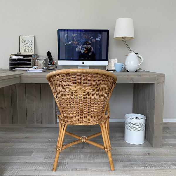"alt=""Marjolyn Poutsma's home office, how hygge helped me change direction, bramble and fox uk hygge lifestyle brand"""