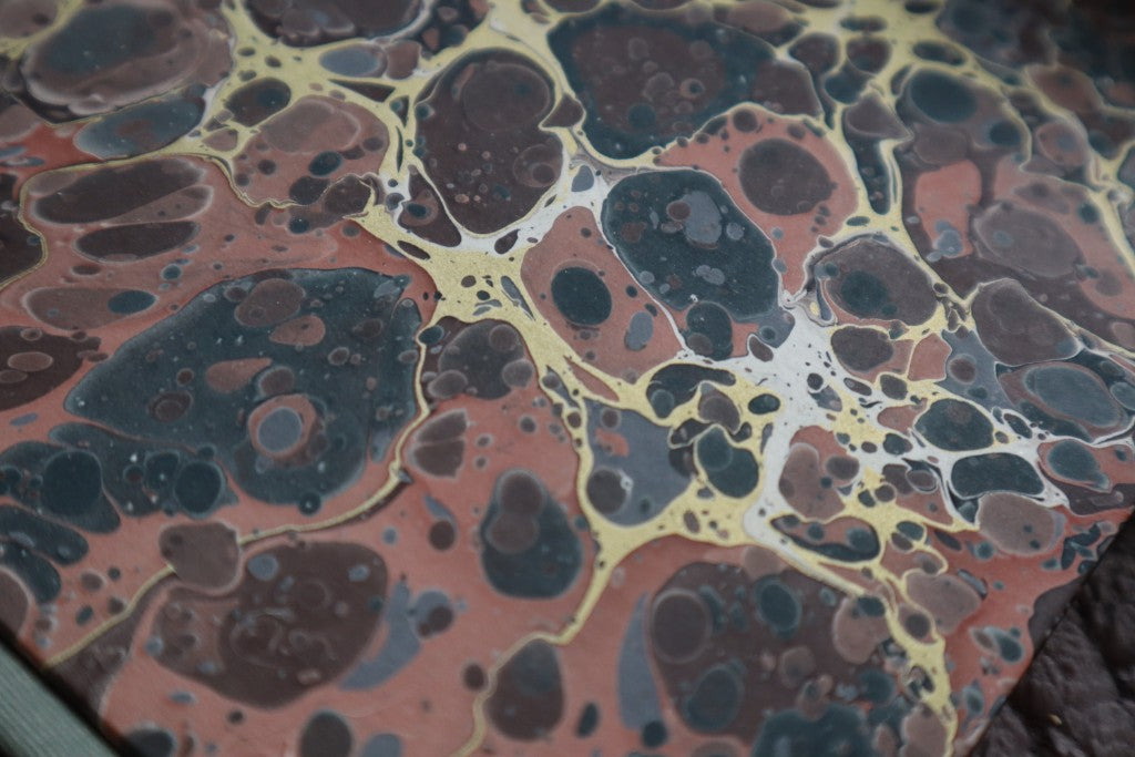 Hand-bound Marbled Journal by Graphis Books