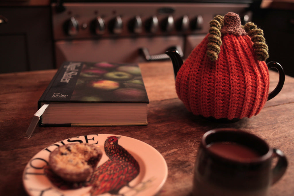 Pumpkin Tea Cosy by Rosie and Max Crafts