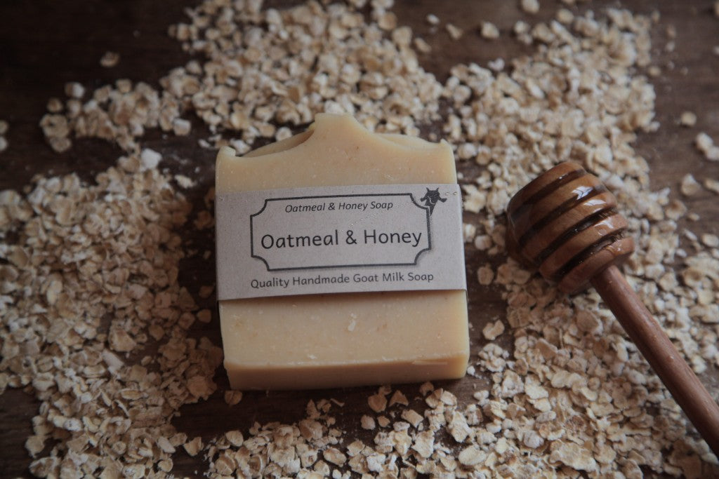 Oatmeal and Honey Goat's Milk Soap by Goap