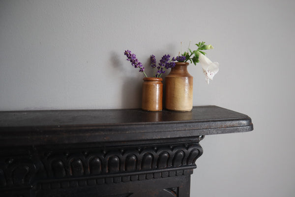 victorian salt-glazed jars, bramble and fox uk hygge lifestyle shop