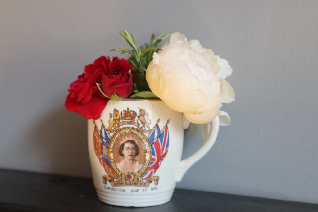 Vintage 1953 Queen Elizabeth II Coronation Cup by KSP