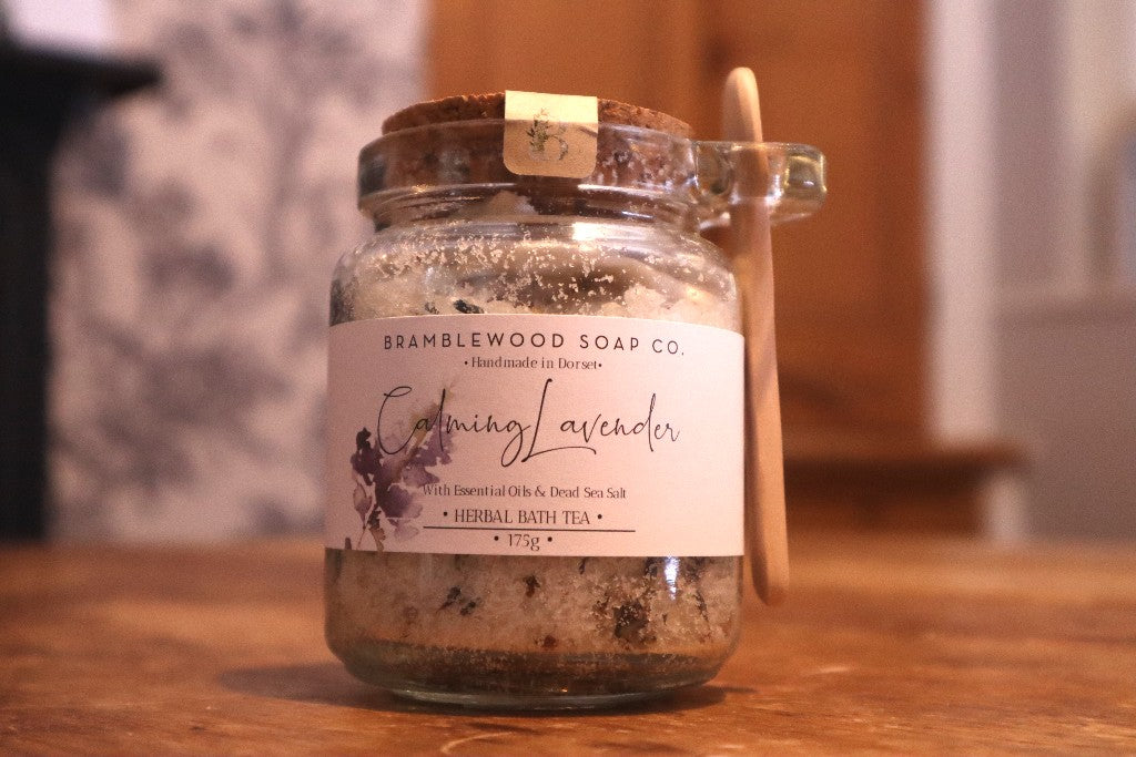 Calming Lavender Bath Tea by Bramblewood Soap Co.