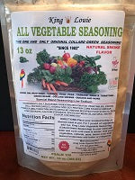 New Bulk Collard Green Seasoning Two (2) 20 pound bags per case