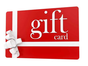 Giftcards  $15, $30, $50, $100