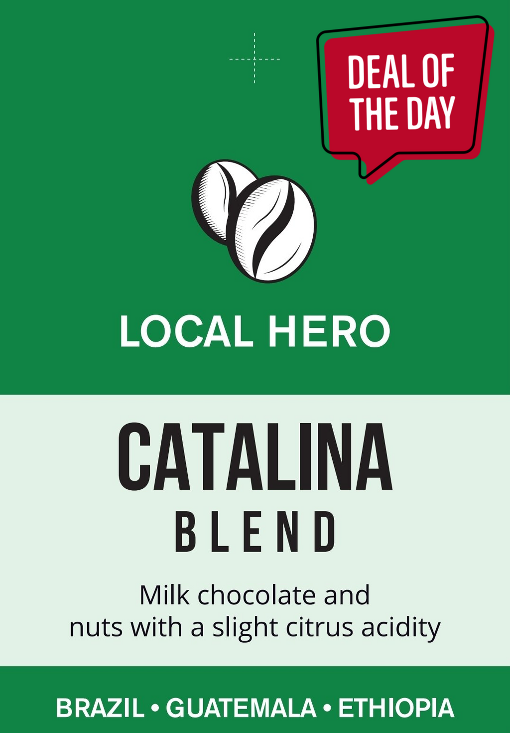 Coffee beans Catalina Blend Specialty Coffee