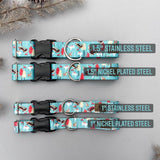 TUNDRA Wasagaming Moose Dog Collar, Winter Dog Collar, Moose Dog Collar Water Resistant Outdoor Collar