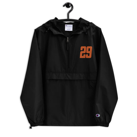 #29 Embroidered Champion Packable Jacket