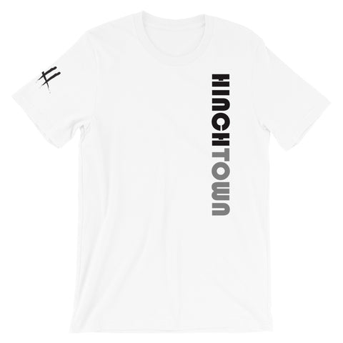 Hinchtown Vertical Short-Sleeve Unisex T-Shirt