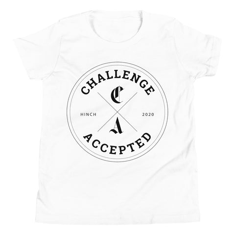 #CHALLENGEACCEPTED Youth Short Sleeve T-Shirt